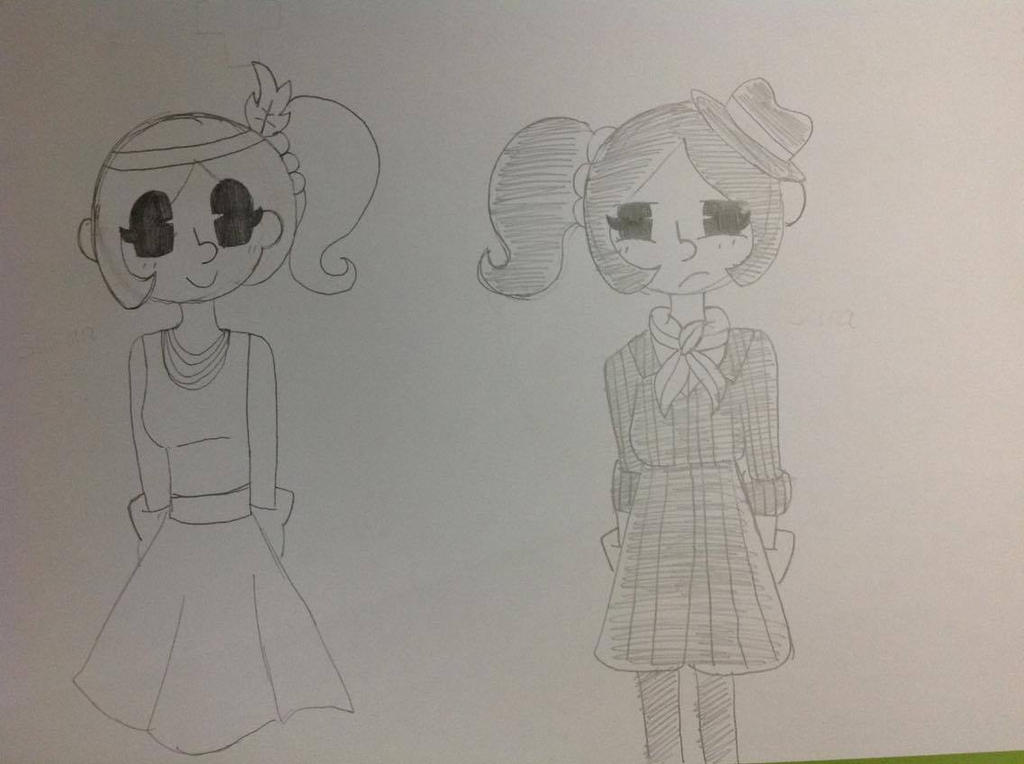 The 1920s Twins by THECLASSICGIRL