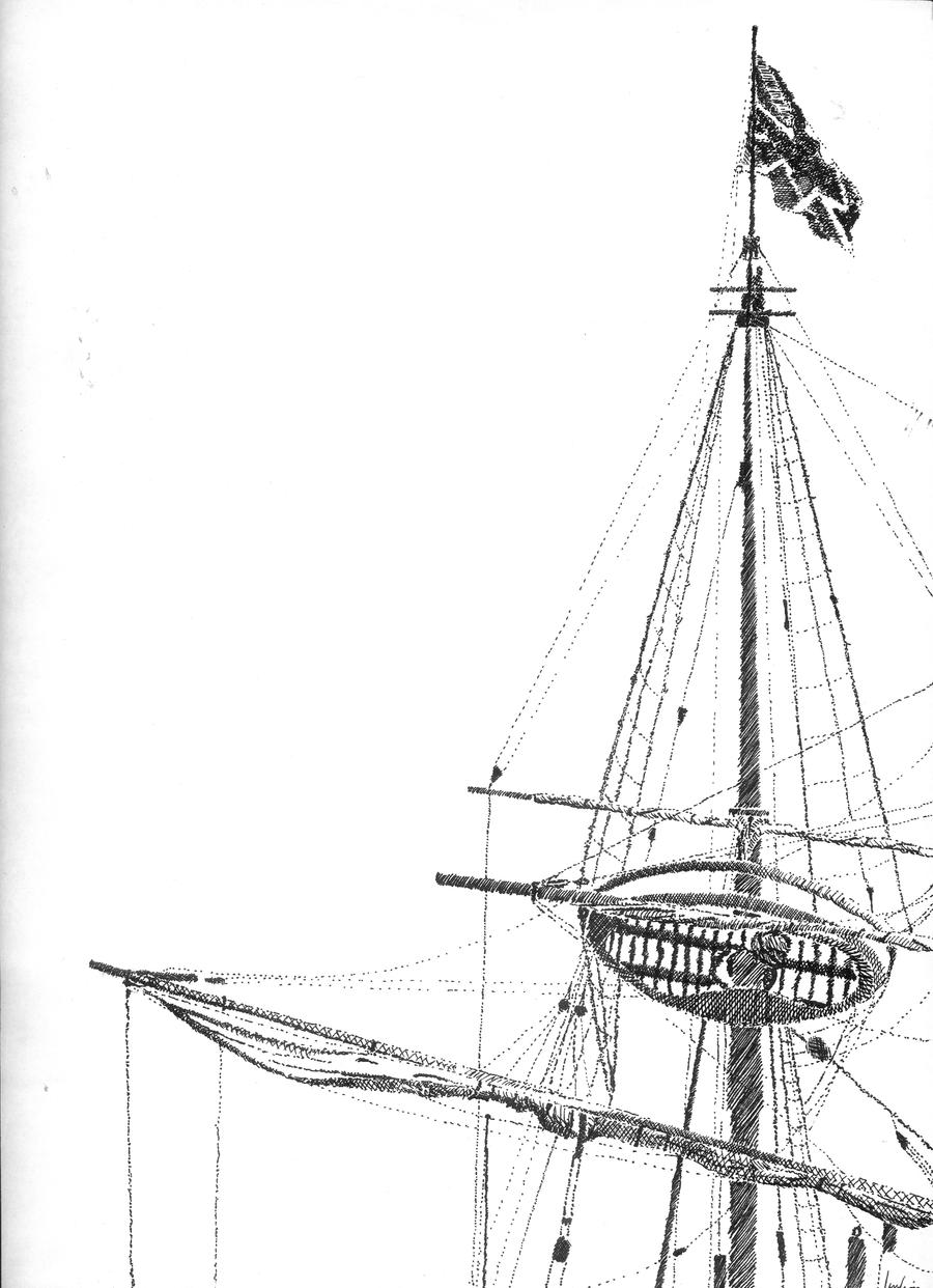 Ships mast pen and ink by fiona leung on deviantart ships mast pen and ink by fiona leung sciox Gallery