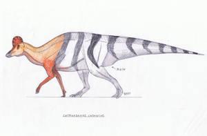 Corythosaurus casurarius by Pappasaurus
