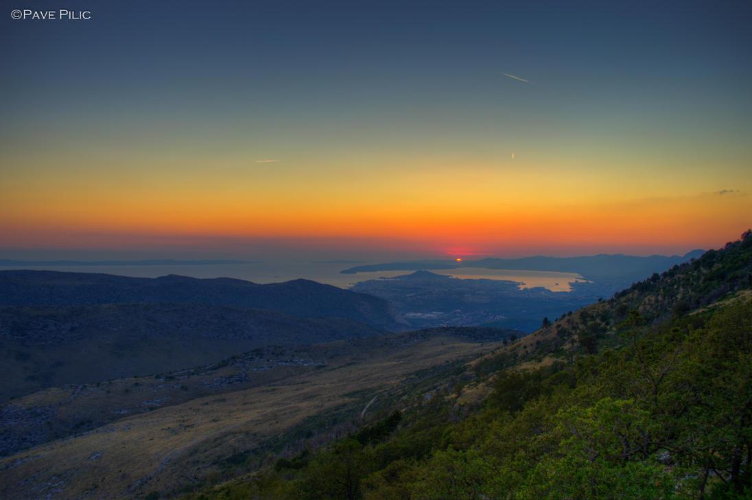 The last Sun rays (Split,Croatia) by PPILIC-ST