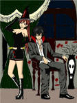 Gray and Erza Halloween