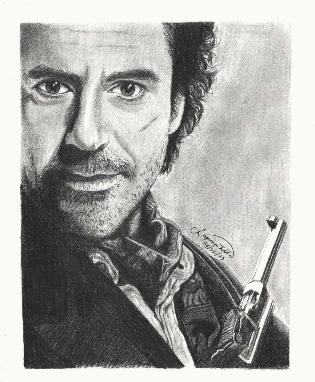 Robert Downey Jr. as Sherlock Holmes by mystic-pUlse on ...