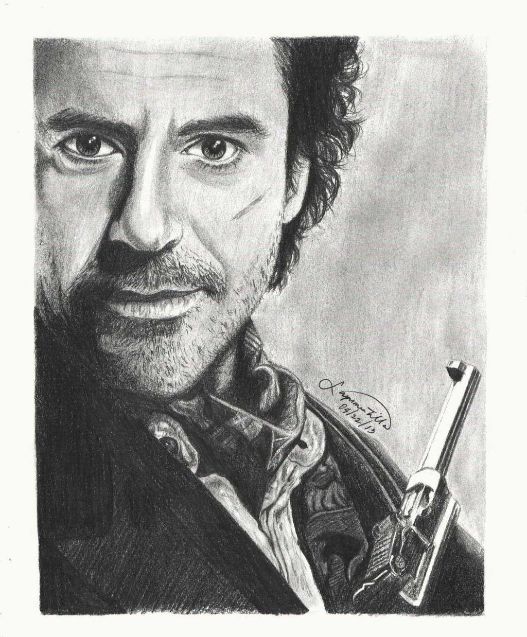 Robert Downey Jr. as Sherlock Holmes by mystic-pUlse on ...