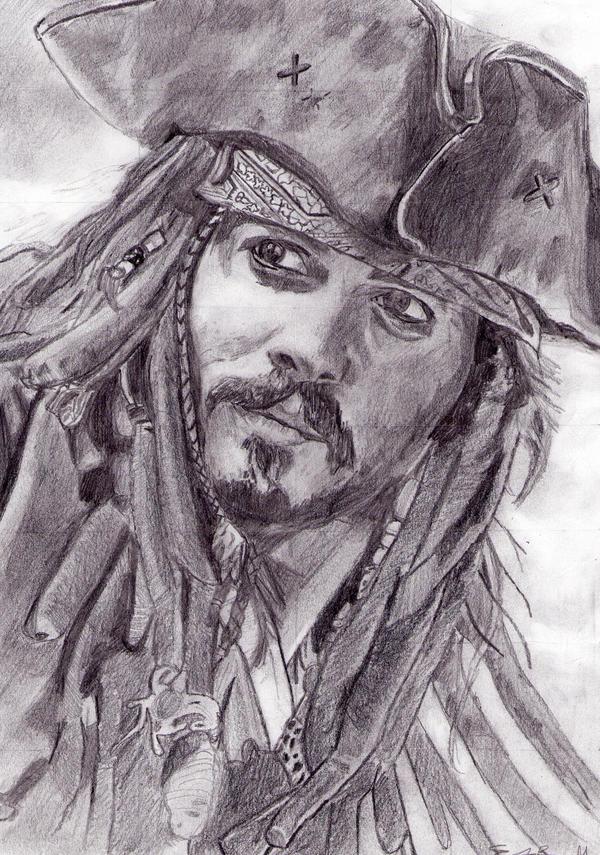 Captain Jack Sparrow by E-m-m-a--J-a-n-e