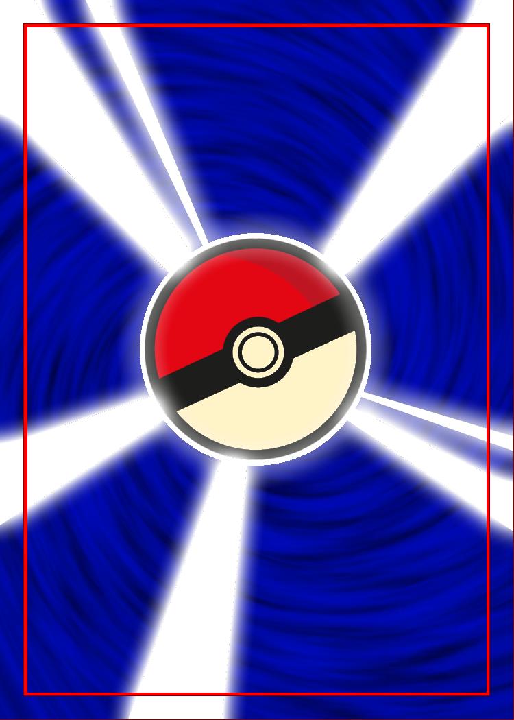 Pseudo-Japanese Style Pokemon Card Back by IAmTheDaveO on ...