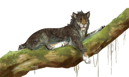 [Commission] King of the Jungle