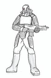 Combine Elite Sketch by R0ACHA