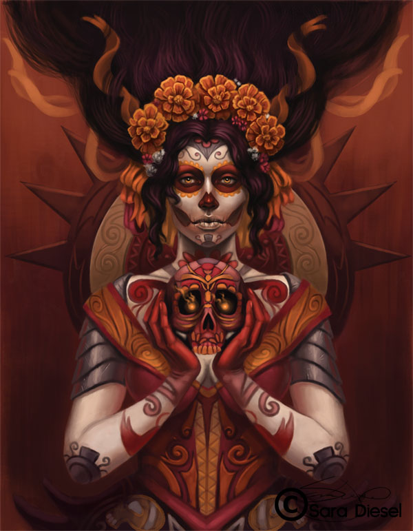 Day of the Dead by skdiesel