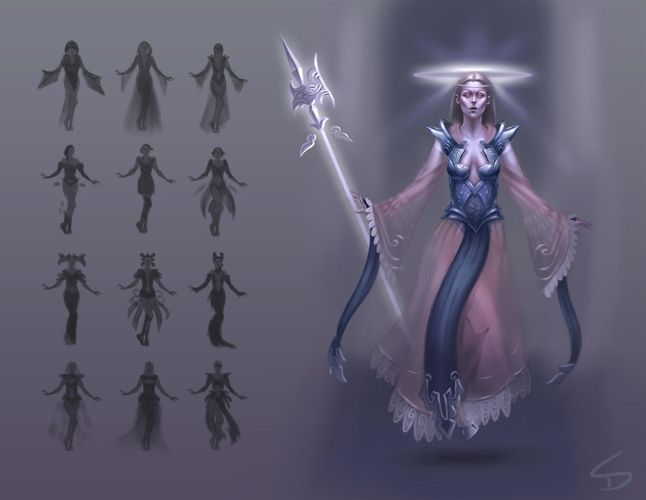 Acolyte Character Design by skdiesel
