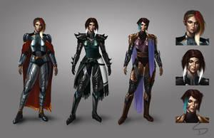 Fantasy Knight Concepts