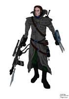 OC Nathanel Verge -Bounty Hunter - new version by ChrisSowinski