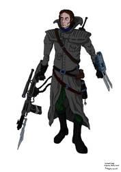 OC Nathanel Verge -Bounty Hunter - new version