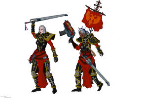 Sisters of Battle by ChrisSowinski