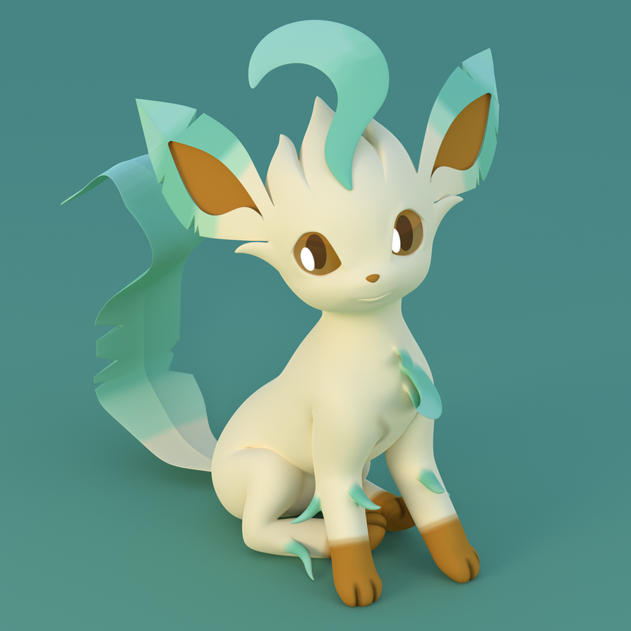 Leafeon Profile Picture (Hi-Res) by TheRealDJTHED