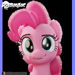 Pinkie Eyebrow Expression Render Test