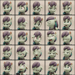 Coloratura Expression Stress Test Chart