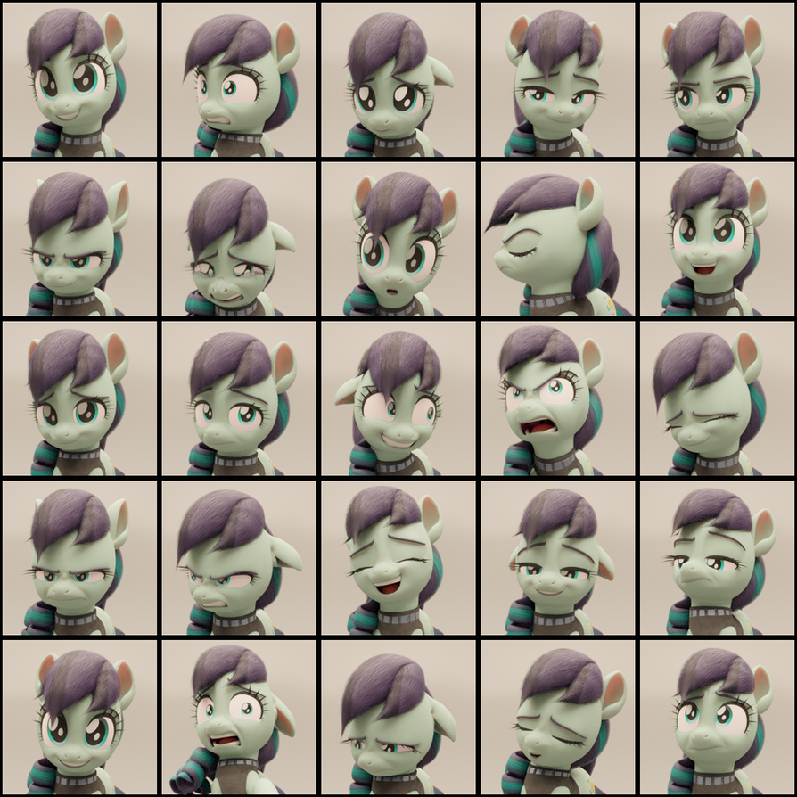 Coloratura Expression Stress Test Chart by TheRealDJTHED