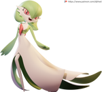 Graceful Gardevoir Render