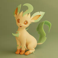 <b>New Leafeon Model And Profile Picture Render</b><br><i>TheRealDJTHED</i>