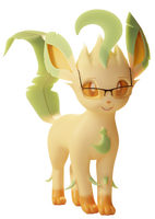 <b>My Potential Leafeon Persona Test Render</b><br><i>TheRealDJTHED</i>
