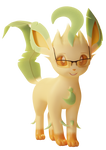 My Potential Leafeon Persona Test Render