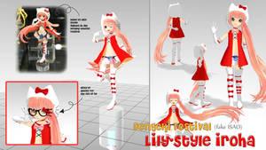 MOTME: Dengeki Festival Lily-Style Iroha by Maya-onee-chan