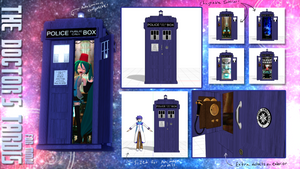 The MMD TARDIS by Maya-onee-chan