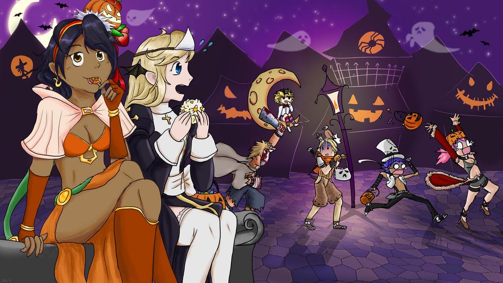 Happy Halloween! by Maya-onee-chan