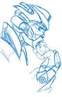 Sketch_A Guardian's Comfort by Vee-Freak