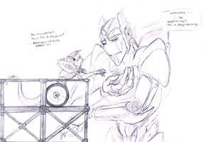 Transformers - The Worry Wart by Vee-Freak