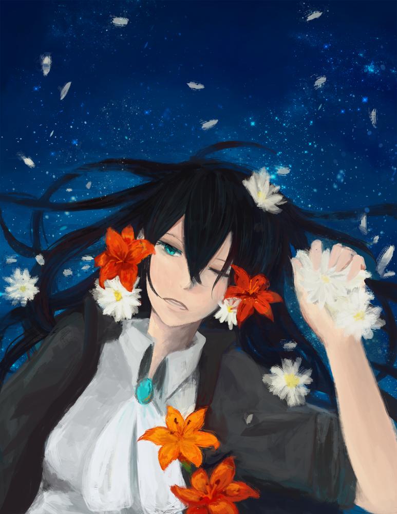 Lilies and Daisies by Faildogg