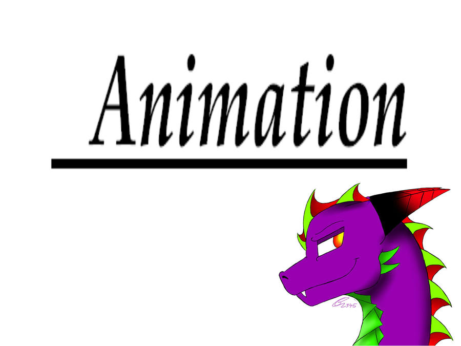 animation logo by deathtail the dracon on deviantart