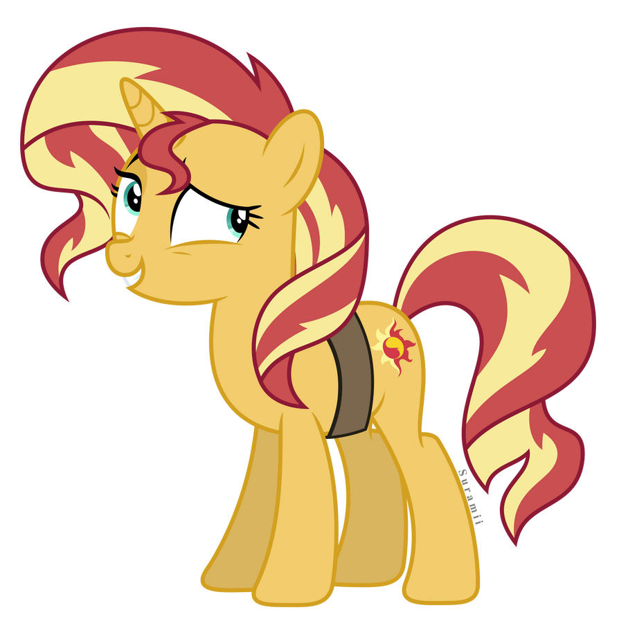Vector #5 - Sunset Shimmer by WhalePornoz   My little pony