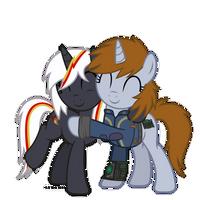[Vector #125] Friendly Hug by Suramii