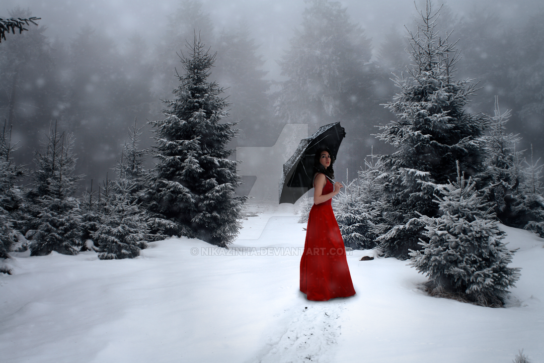 Alone in the Snow by NiKaZiNhA