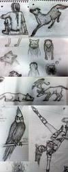 Class Doodle Dump 1 by NiKaZiNhA
