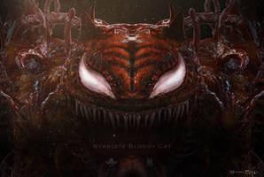 Symbiote Carnage Cat - render 4