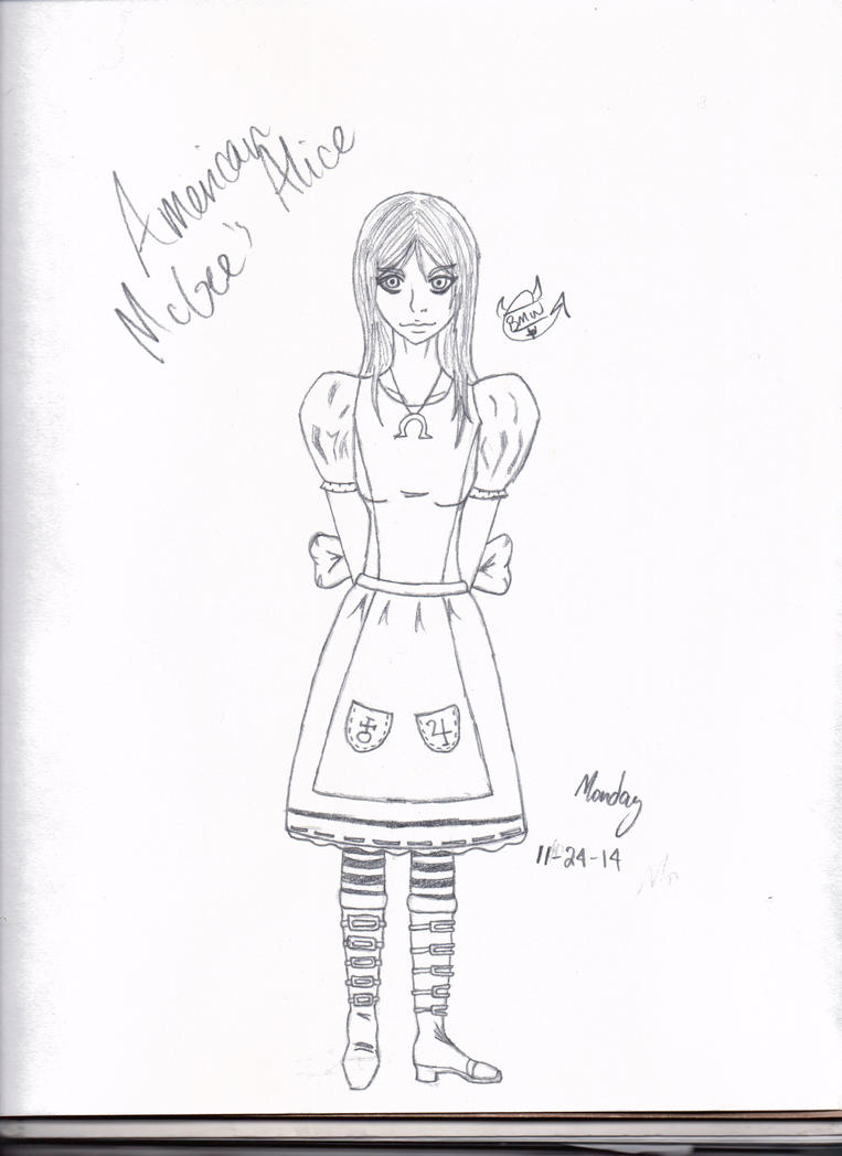American Mcgees Alice by LauraRedfield06