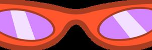 Rarity's Glasses - Vector