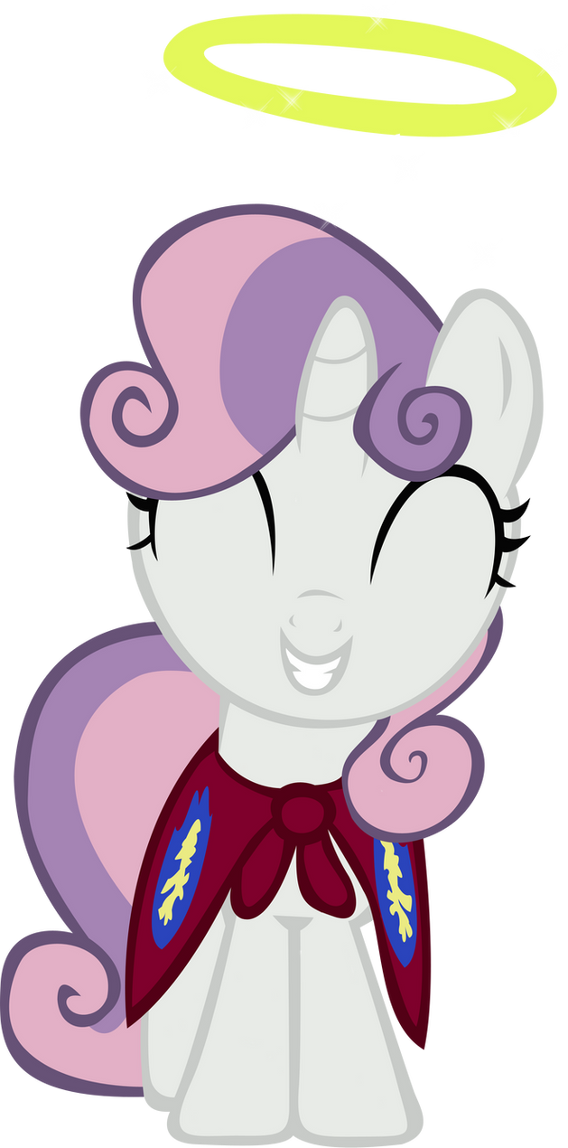 Sweetie Belle Halo - Vector by GuruGrendo