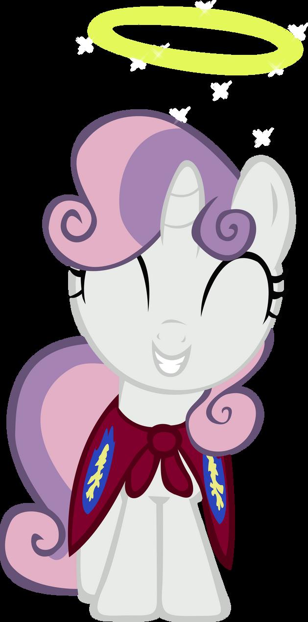 Sweetie Belle Halo - Vector by GuruGrendo