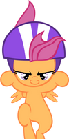 Scootaloo Jumping1 - Vector