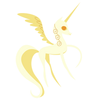 Alicorn Statue - Vector by GuruGrendo