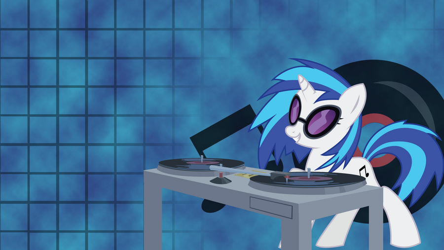 Vinyl Scratch - Wallpaper by GuruGrendo