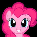 Pinkie Pie Staring - Vector