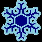 SnowFlake Cutie Mark - Vector