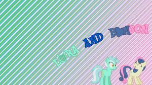 Lyra and BonBon - Wallpaper