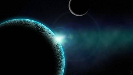 Planets 1 - Wallpaper by GuruGrendo
