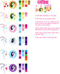 Pony Vector Colour Guide