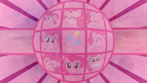 Pinkie Globe - Wallpaper